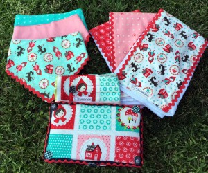 Baby Shower Gift Sets ~ Baby shower gift set lil red riding hood sweetface boutique